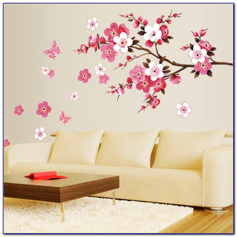 Cherry Blossom Baby Room Decor