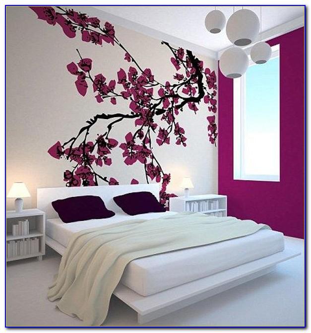 Cherry Blossom Bedroom Decorating Ideas