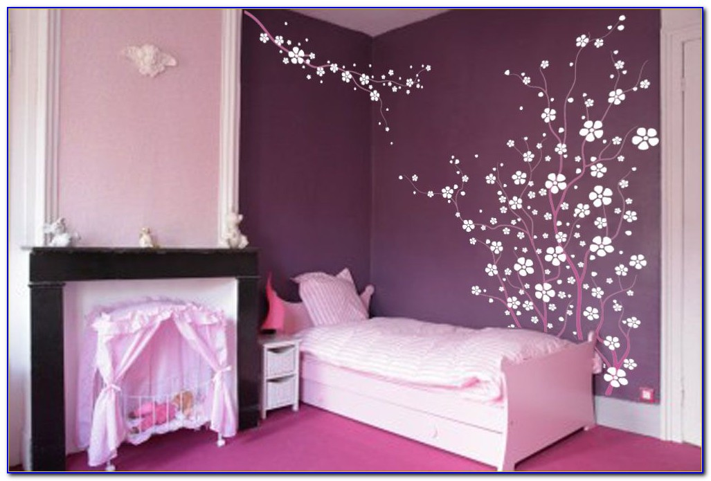 Cherry Blossom Living Room Decor