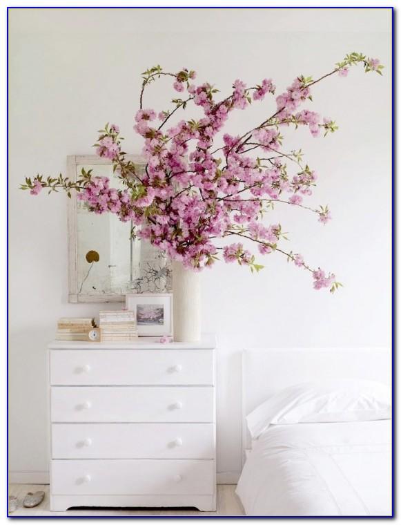 Cherry Blossom Themed Bedroom