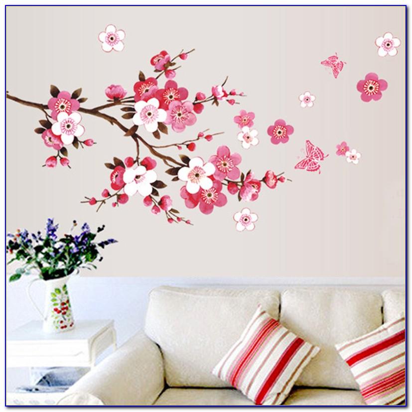 Cherry Blossom Tree Room Decor