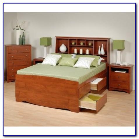Cherry Queen Sleigh Bedroom Set