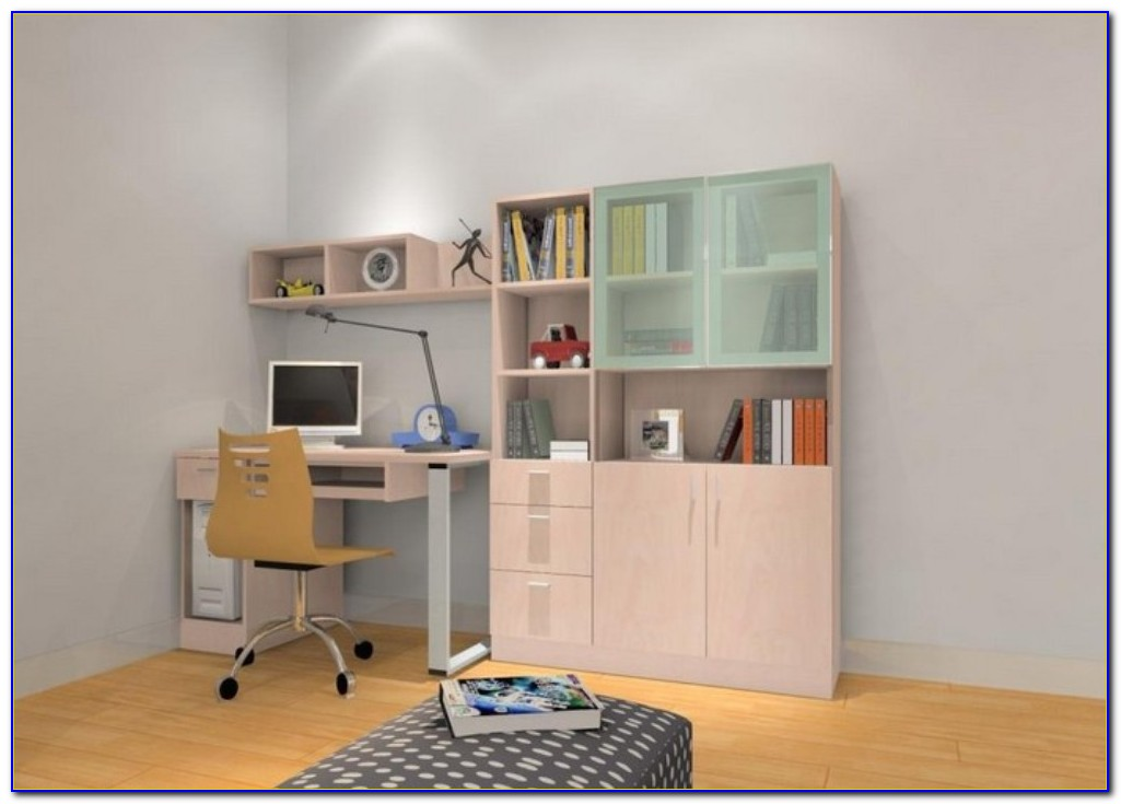 Computer Desk In Bedroom Or Living Room