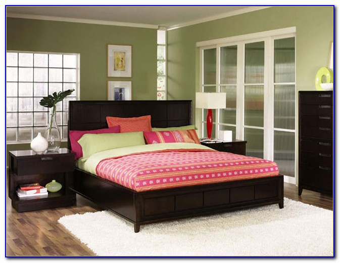 Dark Wood Bedroom Furniture Sets