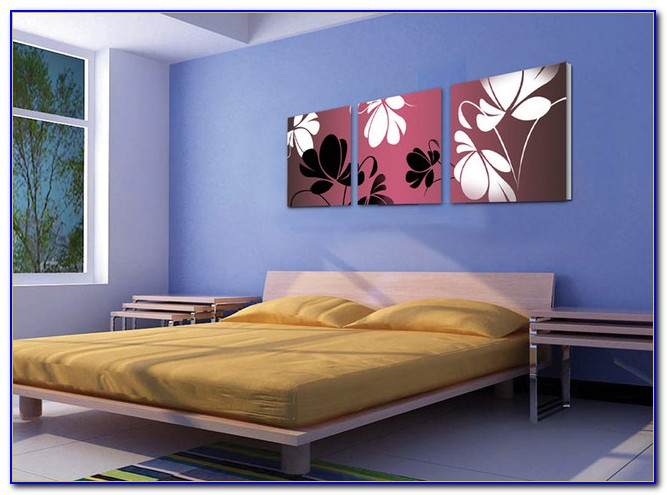 Diy Canvas Art For Bedroom