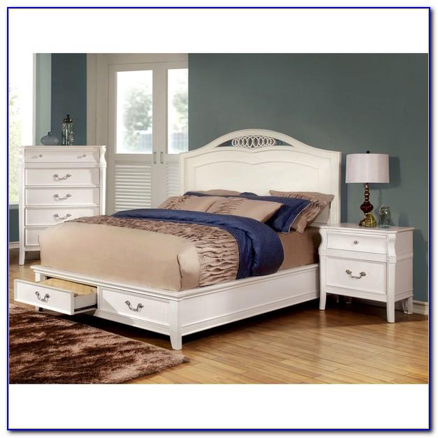 Elegant White Bedroom Sets