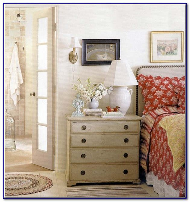 French Country Cottage Bedroom Decor
