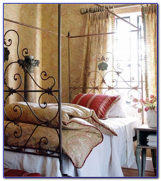 French Country Style Bedroom Decorating