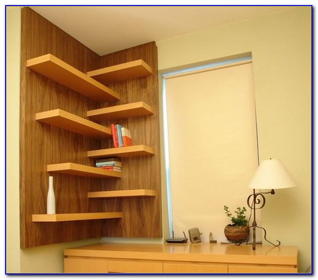 Glass Corner Shelves For Bedroom
