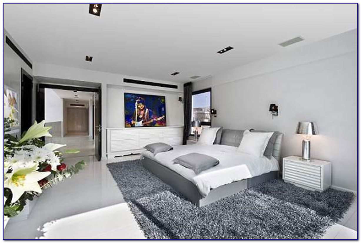 Gray And White Bedroom Images
