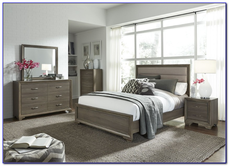 Grey Wash Oak Bedroom Furniture