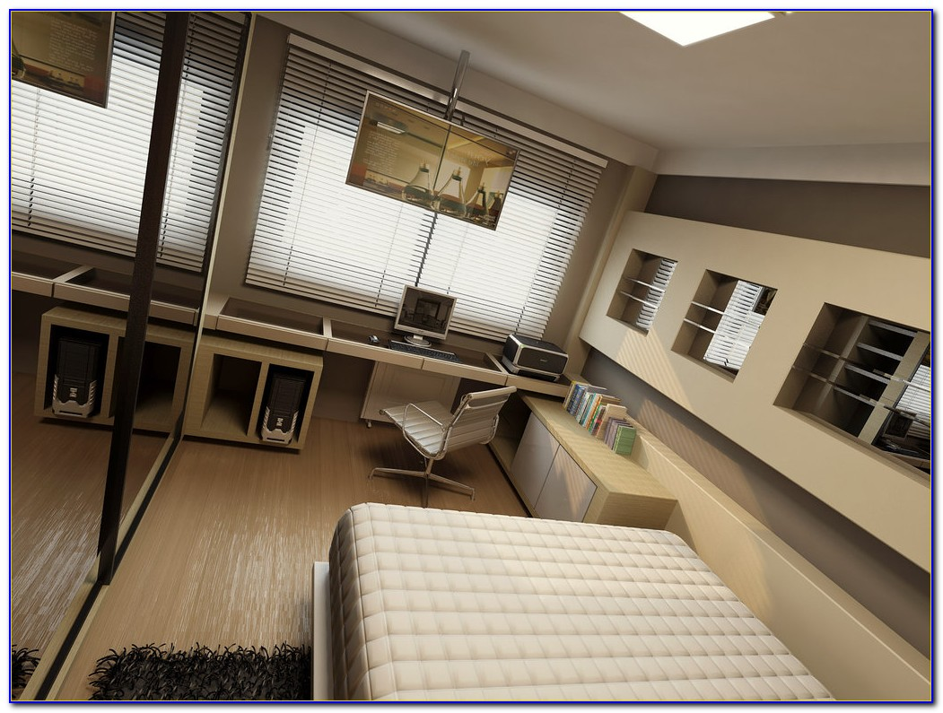 Home Office Guest Bedroom Decorating Ideas