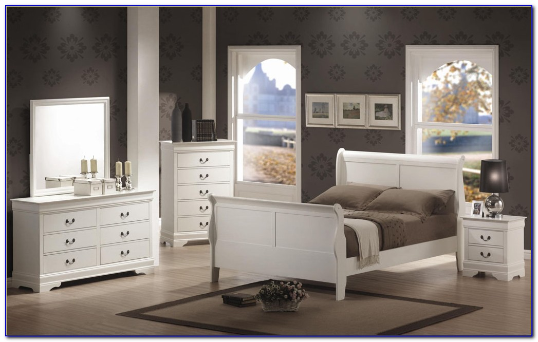 King Bedroom Sets In White