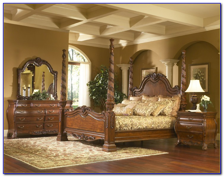 King Bedroom Sets With Mattress