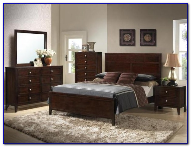 Kingsbury 7 Piece Bedroom Group With Mattress Set