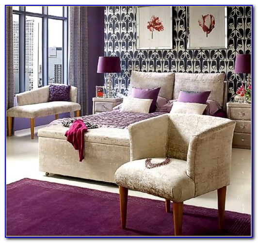 Light Purple And Gray Bedrooms