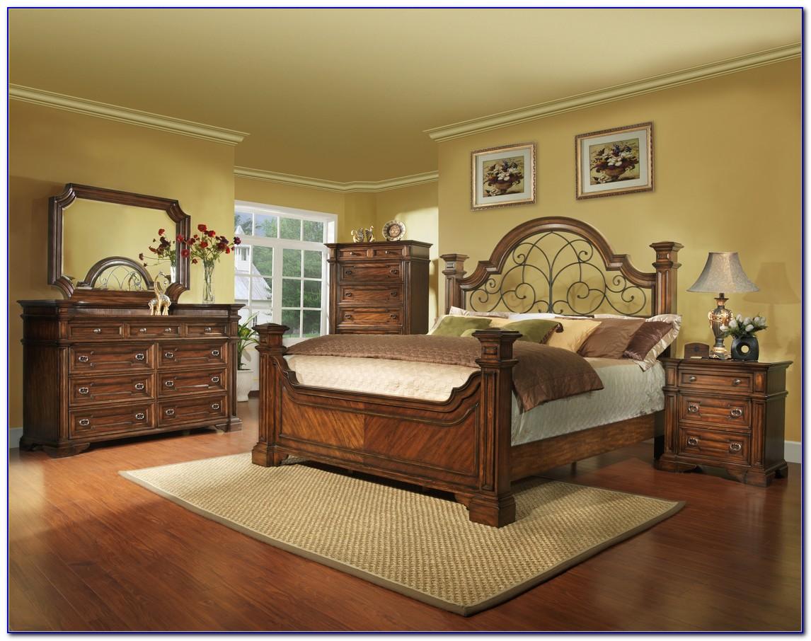 Metal And Wood Bedroom Sets