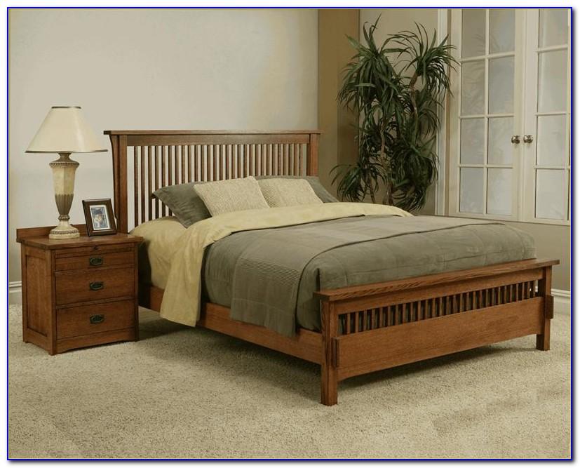 Mission Oak Bedroom Furniture Sets