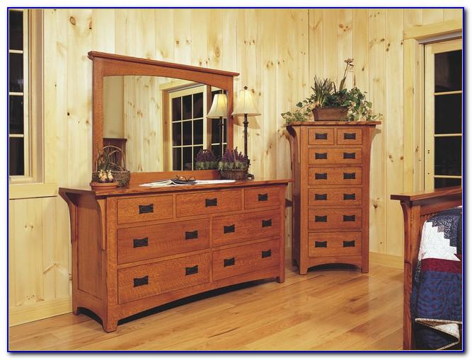 Mission Oak Bedroom Sets