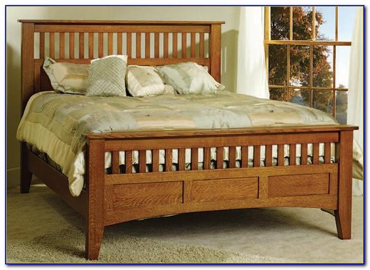 Mission Solid Oak Bedroom Furniture