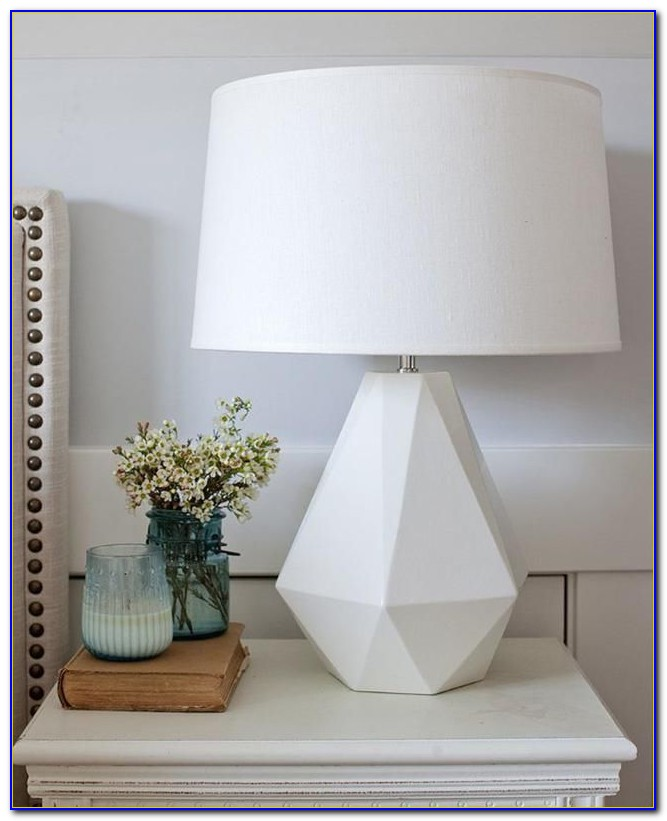 Modern Bedroom Nightstand Lamps