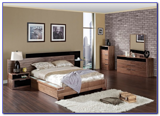 Modern Wood Bedroom Furniture Designs