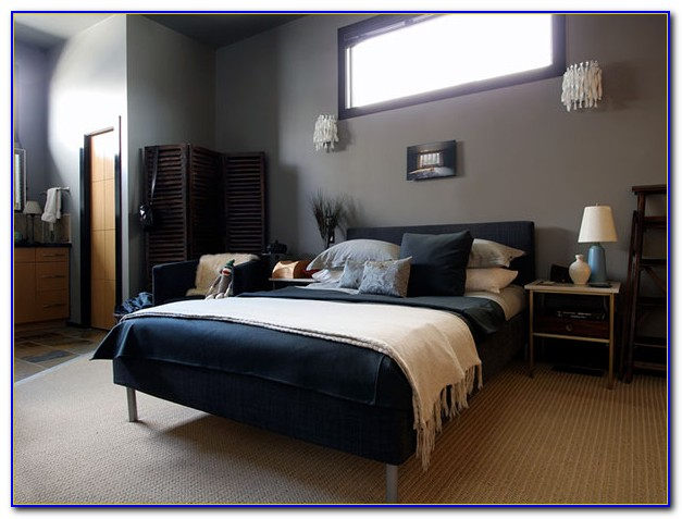 Navy Blue And Gray Bedroom Ideas