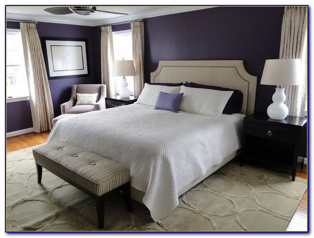 Navy Blue And Purple Bedrooms