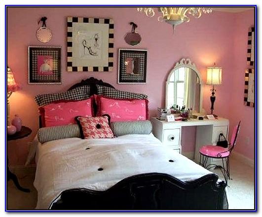 Paris Themed Bedroom Decorating Ideas
