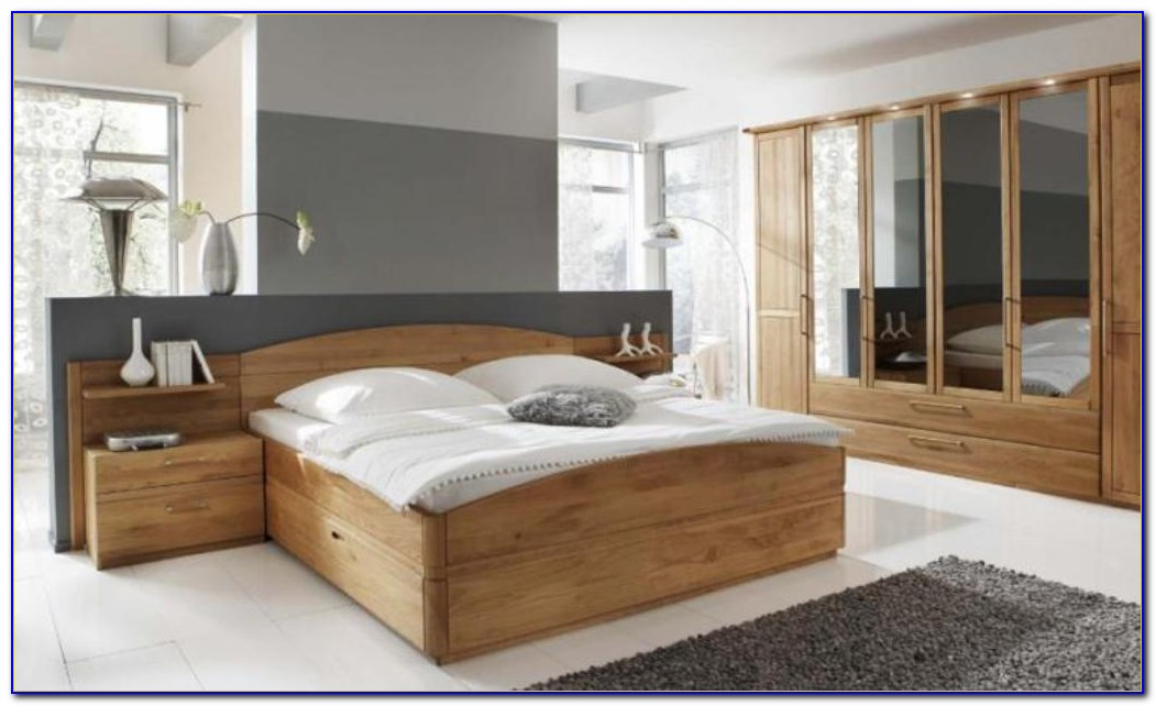 Pecan Bedroom Furniture Solid Wood