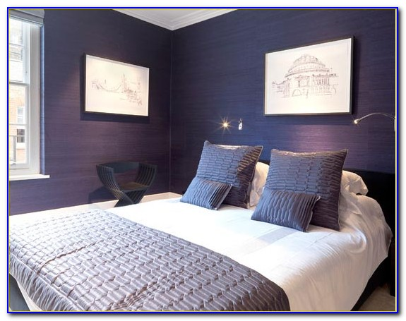 Purple And Grey Bedrooms