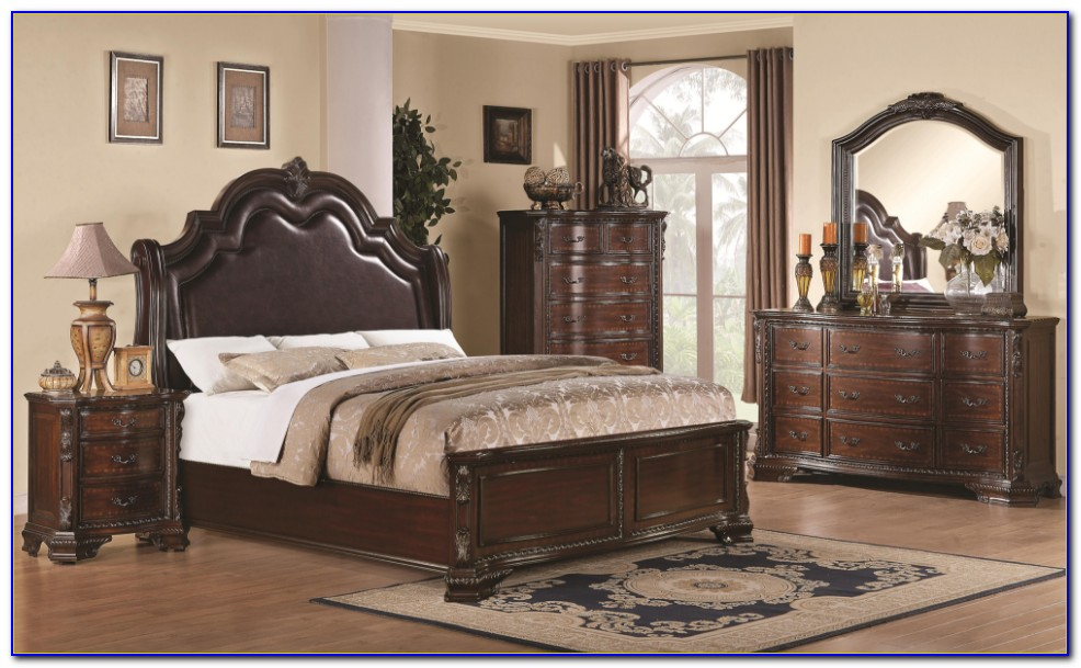 Queen Anne Cherry Bedroom Sets