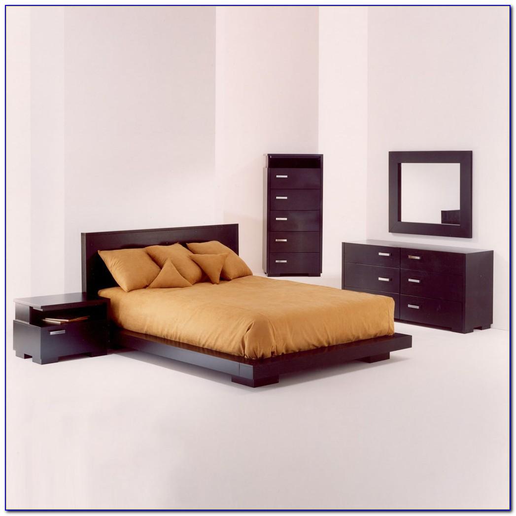 Queen Size Sleigh Bed Bedroom Set