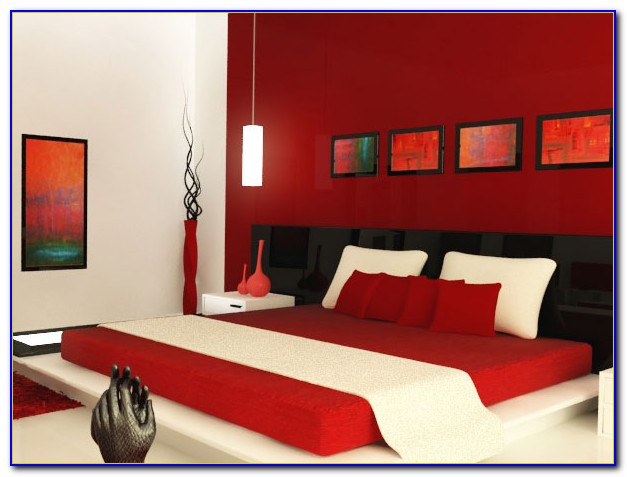 Red Walls Decorating Ideas