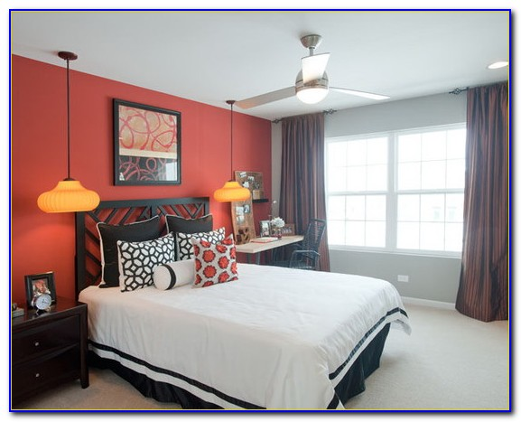 Red White Bedroom Decorating Ideas