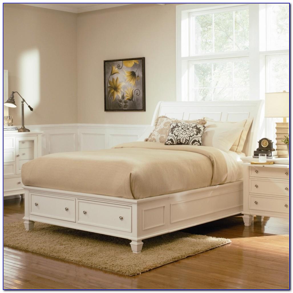 Sandy Beach Bedroom Set White