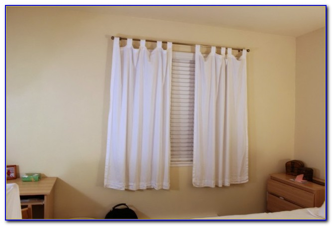 Short Bedroom Window Treatments