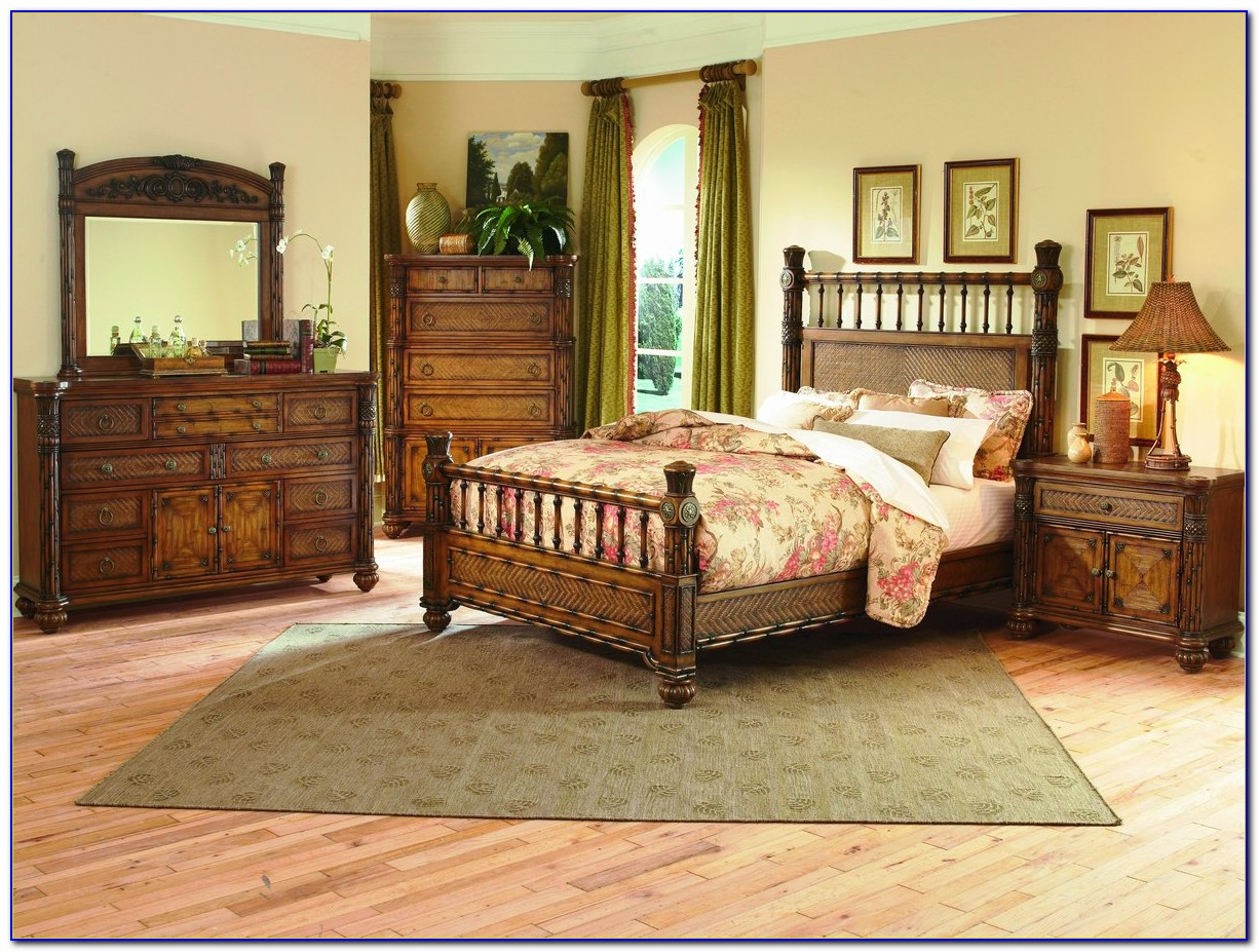 Tropical Island Style Bedroom Furniture