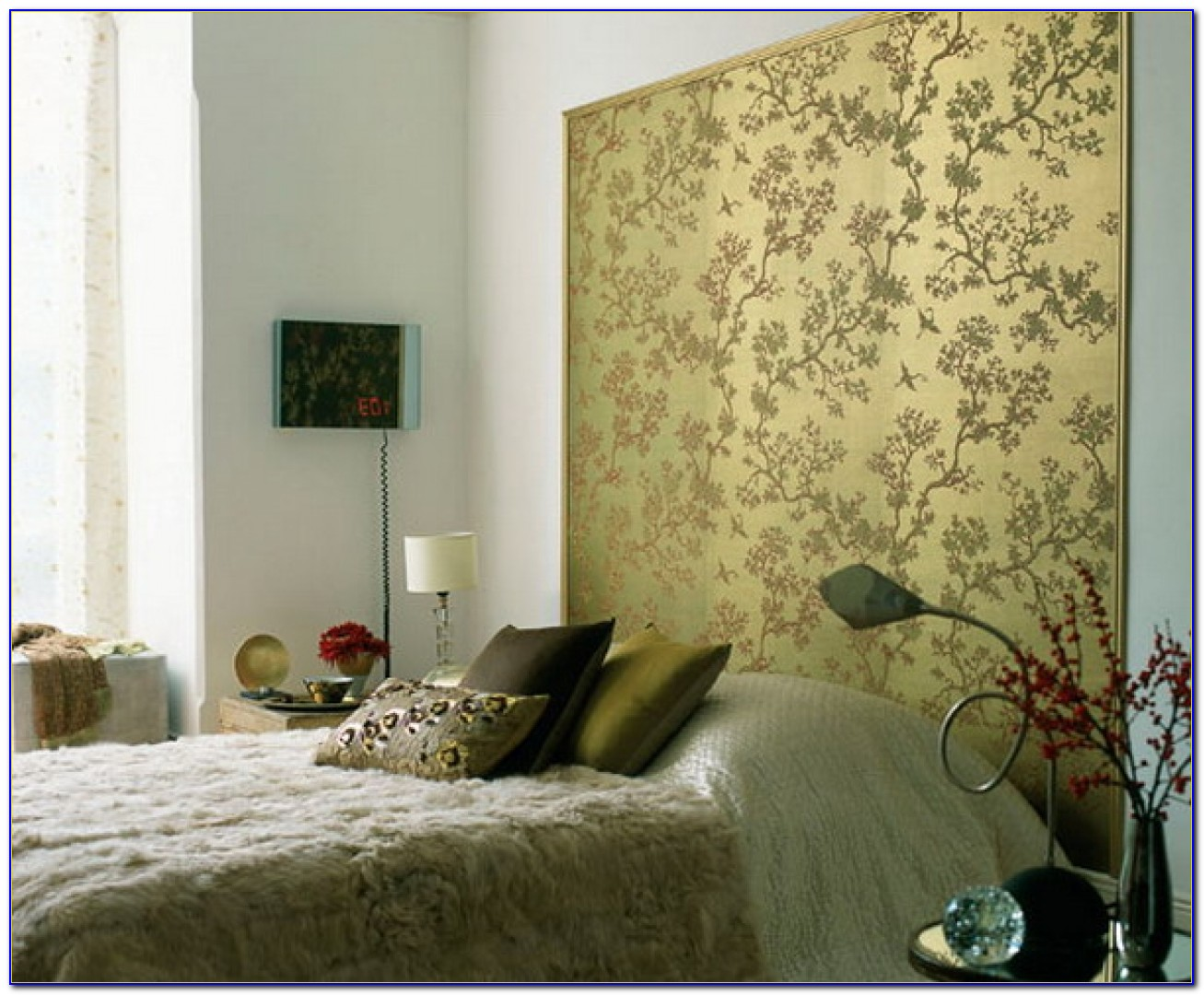 Wallpaper Designs For Bedrooms India