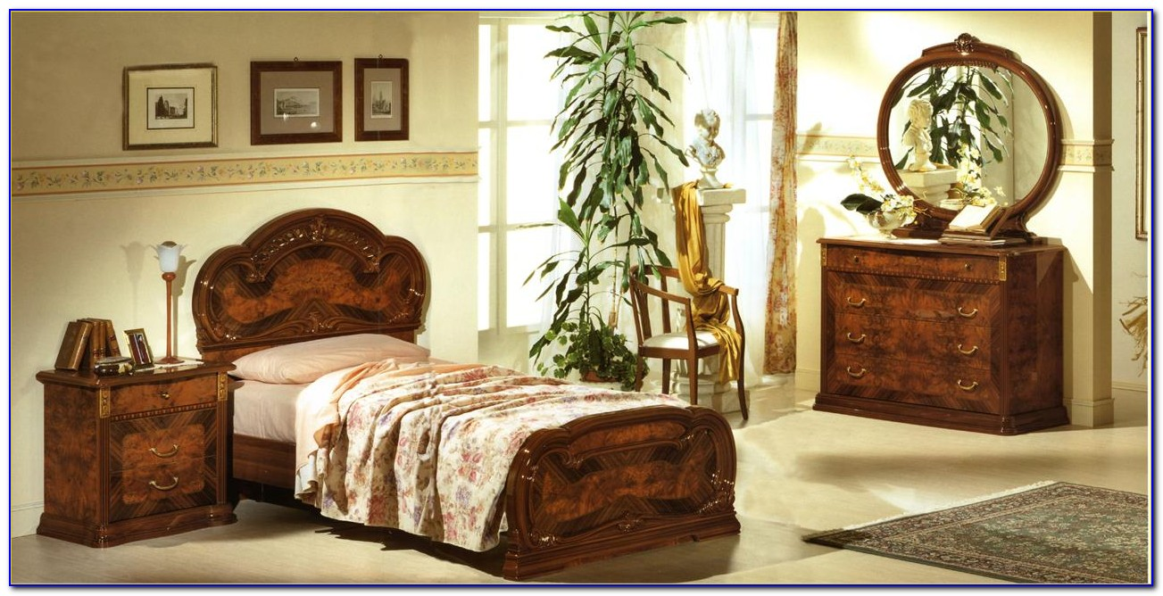White Italian Style Bedroom Sets