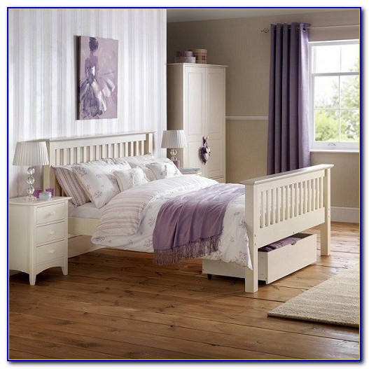 White Painted Oak Bedroom Furniture
