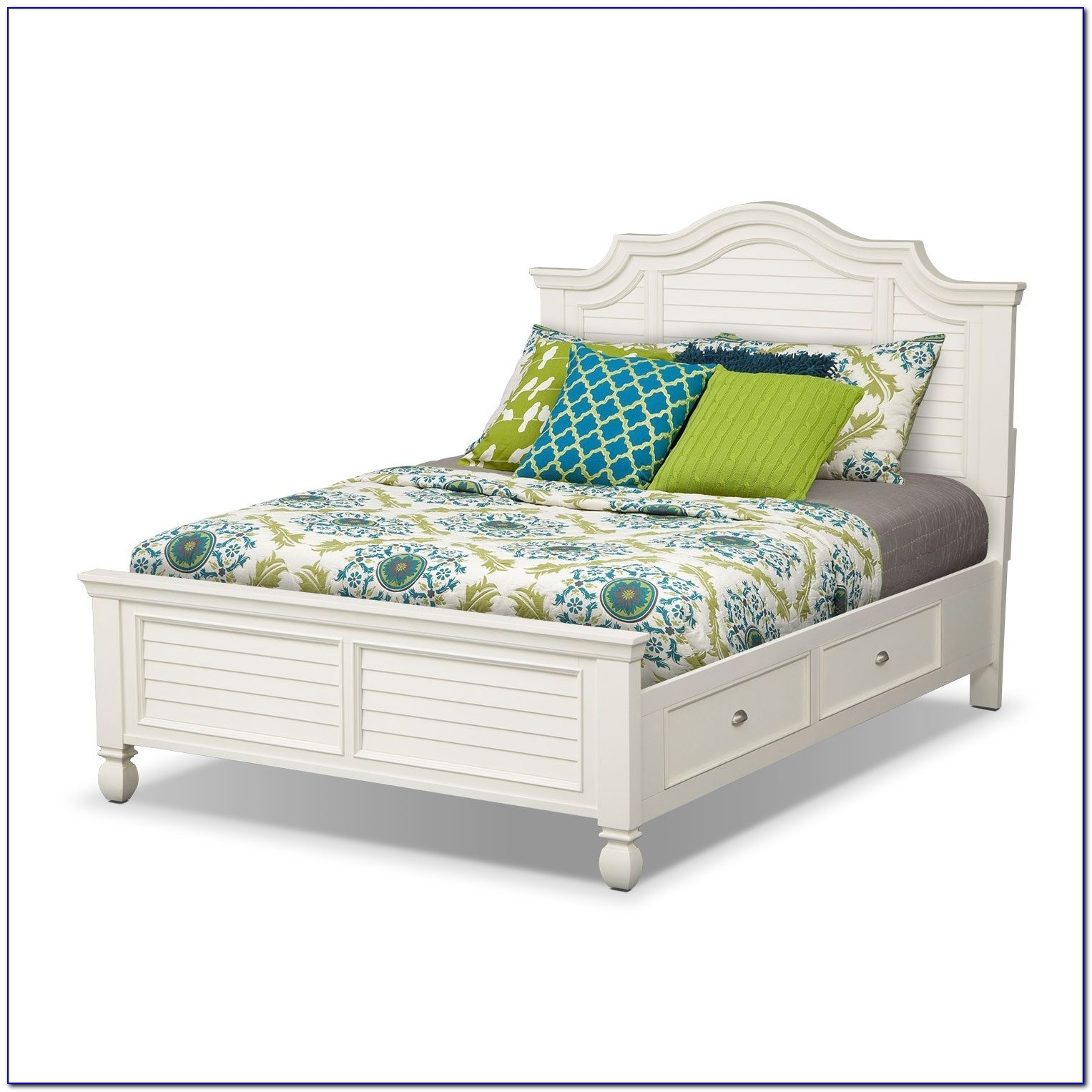White Plantation Style Bedroom Furniture