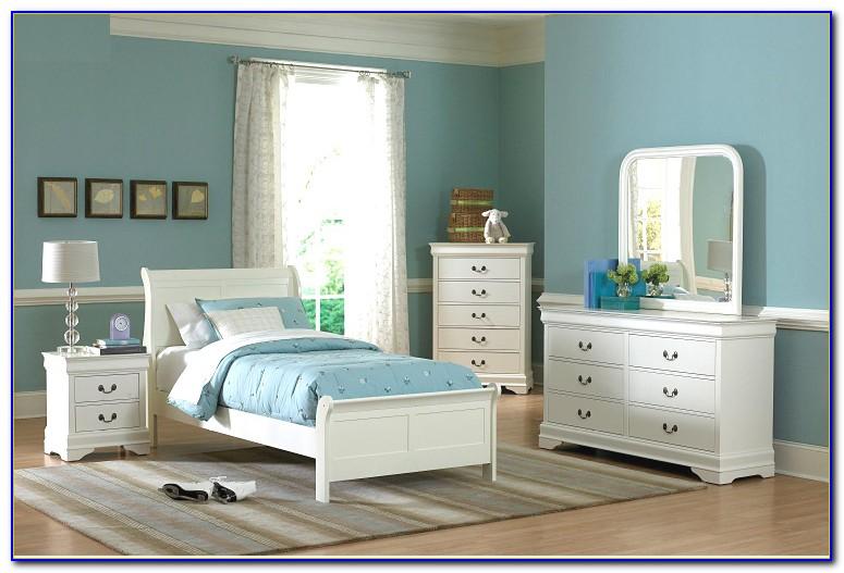 White Toddler Bedroom Set
