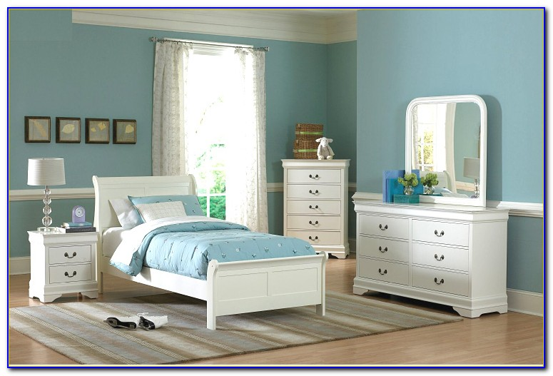 White Twin Bed Ashley Furniture