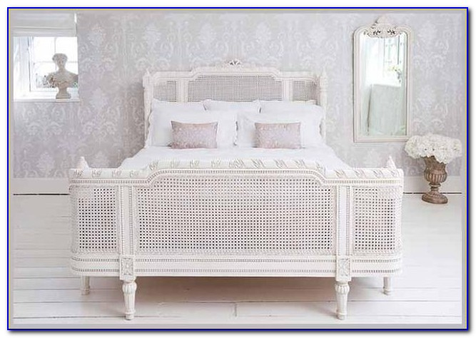 White Wicker Bedroom Furniture Used