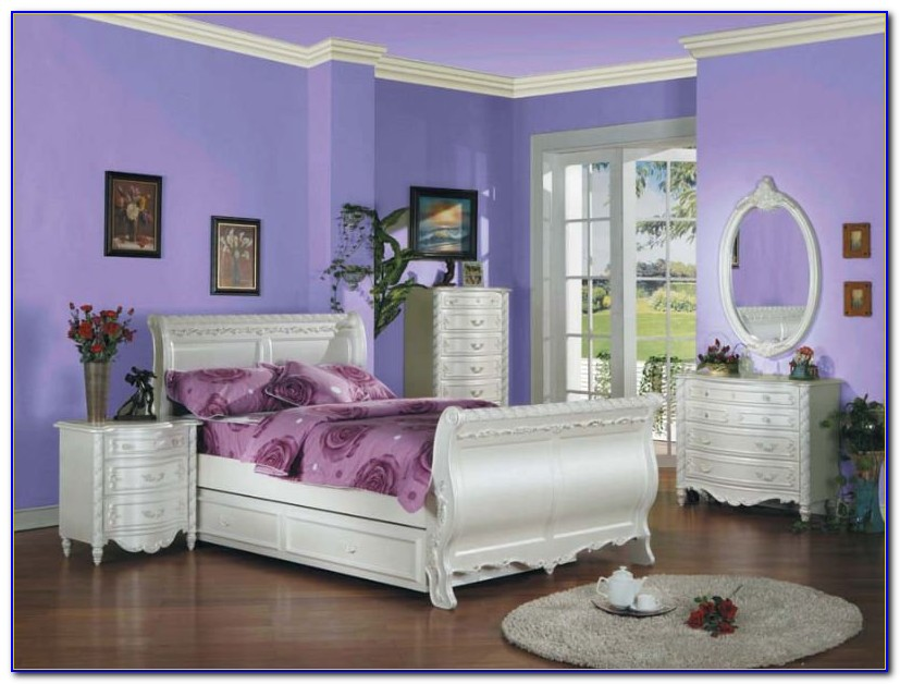 White Youth Bedroom Furniture Sets
