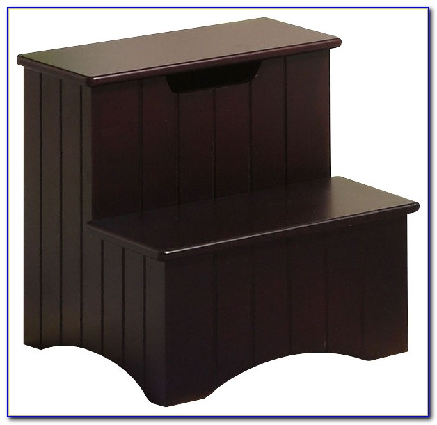 Wood Step Stool For Bedroom