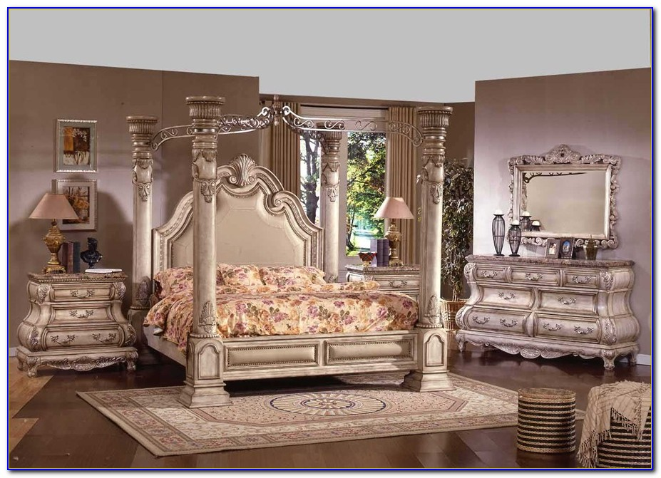 Antique French Style Bedroom Furniture