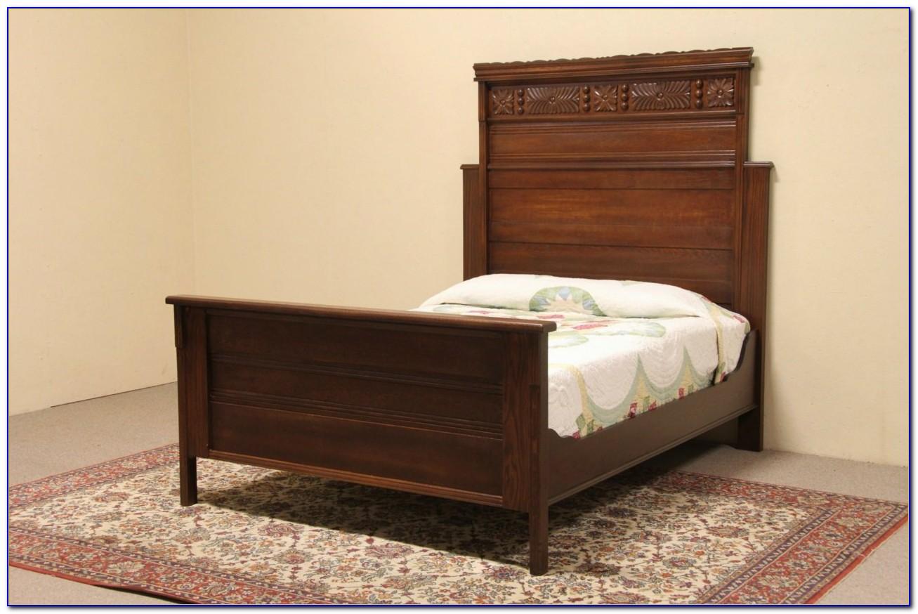 Antique Golden Oak Bedroom Set