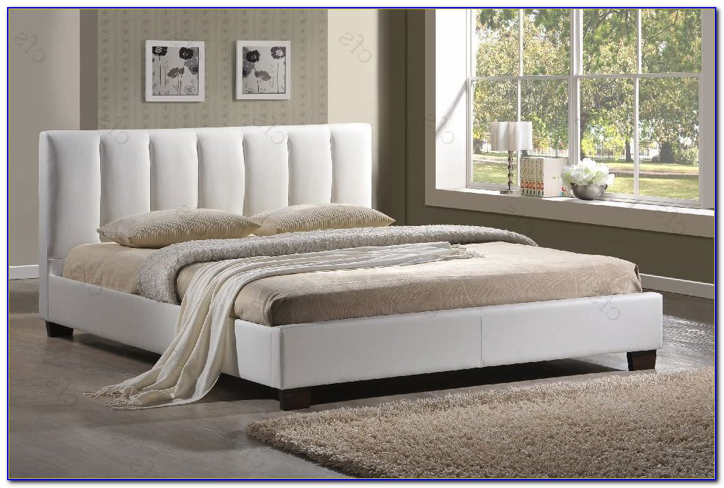 Azure Faux Leather Bedroom Furniture